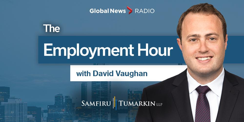 Employment Hour, David Vaughan, 640 Toronto, 900 CHML, 980 CFPL, Global News Radio