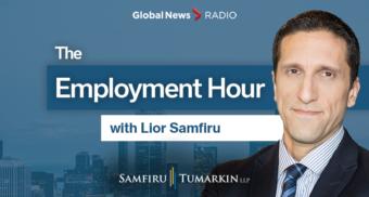 Lior Samfiru, Global News Radio, 640 Toronto, 900 CHML, 980 CKNW, 980 CFPL, Employment Hour