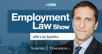 employment law show, Newstalk 580 CFRA, Ottawa
