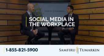 employment law show, social media in the workplace
