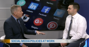 social media in the workplace, CTV Ottawa, alex lucifero
